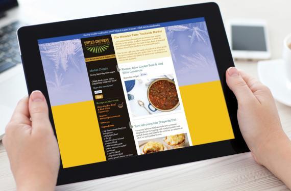 United Growers Produce Market ENewsletter