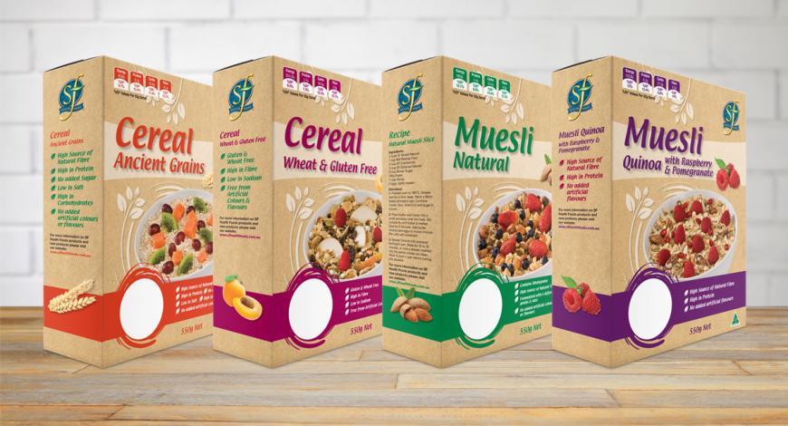 Select Whole Foods Muesli Packaging