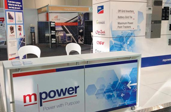 MPower Exhibition Display
