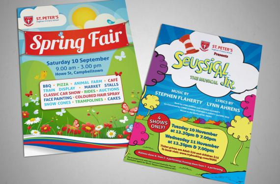 St Peter's Anglican Primary School Flyers