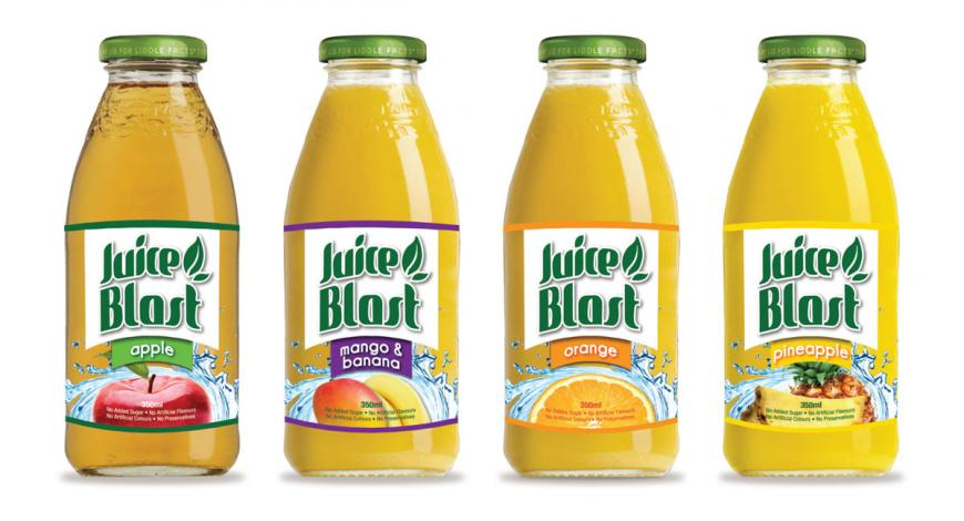 Juice Blast Labels