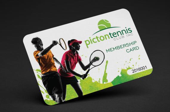 Picton Tennis Membership Card